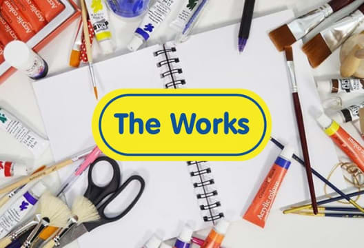 Get a 20% Saving on Your Shop at The Works