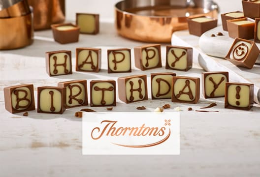 Enjoy 3 for 2 on Selected Gifts at Thorntons