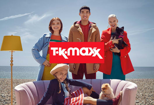TK Maxx Are Always up to 60% Less on Top Brands