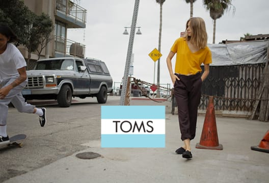 Subscribe for Newsletter and Get 10% Off Your First Purchase at TOMS