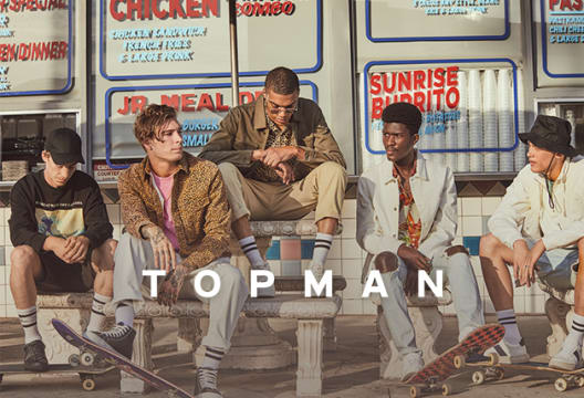 Save 15% on Your First Order at TOPMAN with Newsletter Subscriptions