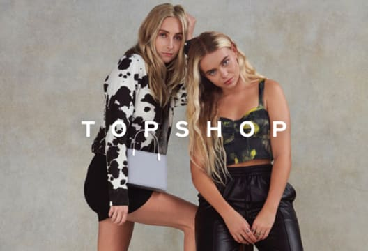 Shop Sale at TOPSHOP and Save up to 70% on Your Order