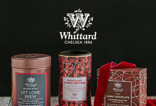 Refer a Friend and You'll Both Receive 15% Off Your Next Order at Whittard of Chelsea