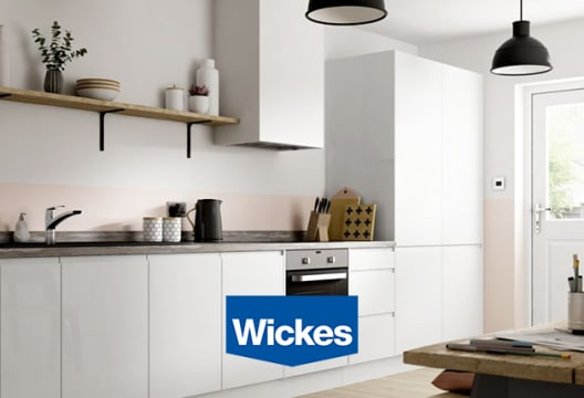 At Wickes Discover up to 50% Savings on Kitchen Installation